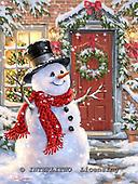 Dona Gelsinger, CHRISTMAS SANTA, SNOWMAN, WEIHNACHTSMÄNNER, SCHNEEMÄNNER, PAPÁ NOEL, MUÑECOS DE NIEVE, paintings+++++,USGE1502,#x#