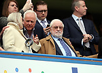 Chelsea's former chairman Ken Bates looks on during the Premier League match at the Stamford Bridge Stadium, London. Picture date: April 1st, 2017. Pic credit should read: David Klein/Sportimage via PA Images