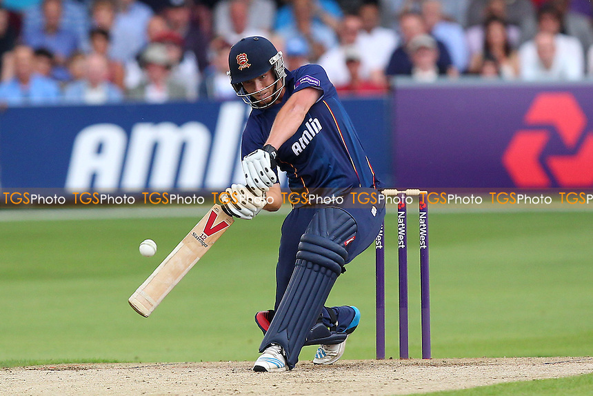 Fpur runs for Tom Westley of Essex - Essex Eagles vs Sussex Sharks - NatWest T20 Blast Cricket at the Essex County Ground, Chelmsford, Essex - 25/07/14 - MANDATORY CREDIT: Gavin Ellis/TGSPHOTO - Self billing applies where appropriate - contact@tgsphoto.co.uk - NO UNPAID USE