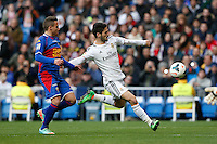 22.02.201a SPAIN -  La Liga 13/14 Matchday 25th  match played between Real Madrid CF vs Elche at Santiago Bernabeu stadium. The picture show Francisco Roman Alarcon (Spanish midfielder of Real Madrid)