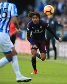 9th February 2019, The John Smith's Stadium, Huddersfield, England; EPL Premier League football, Huddersfield versus Arsenal; Alex Iwobi of Arsenal sprints after the ball