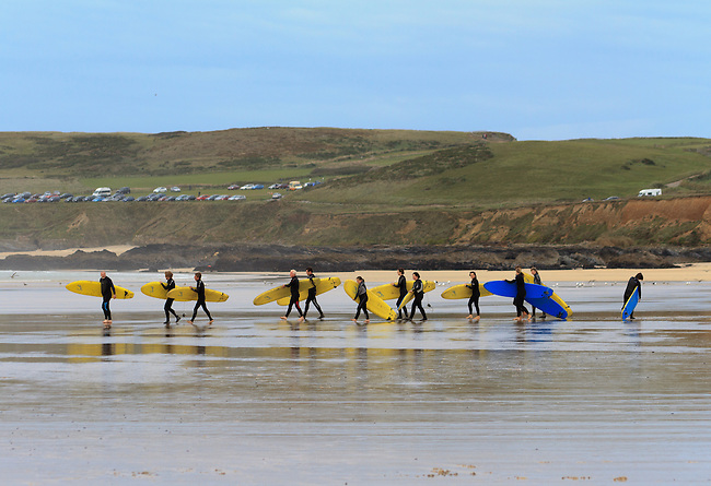 Gwithian Surf School, Cornwall