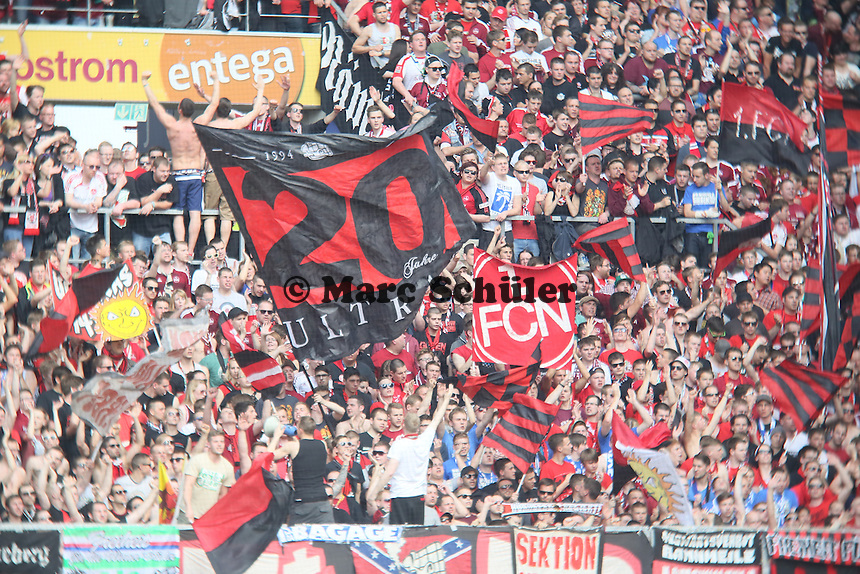 Fans aus Nürnberg- 1. FSV Mainz 05 vs. 1. FC Nürnberg, Coface Arena,