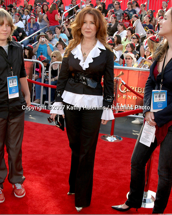 "Mary McDonnell.""Pirates of the Caribbean: At World's End"" Premiere.Disneyland.Anaheim, CA.May 19, 2007.©2007 Kathy Hutchins / Hutchins Photo...."