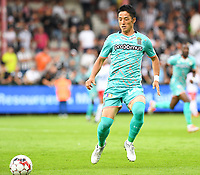 KORTRIJK , BELGIUM - AUGUST 03 : Ryota Morioka of Charleroi pictured during the Jupiler Pro League match day 2 between Kv Kortrijk and Sporting Charleroi on August 03 , 2019 in Kortrijk , Belgium . ( Photo by David Catry / Isosport )