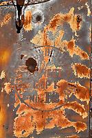 Rusted Metal Closeup