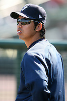 April 26, 2009:  Pitcher Kei Igawa of the Scranton Wilkes-Barre Yankees, International League Class-AAA affiliate of the New York Yankees, during a game at the Frontier Field in Rochester, NY.  Photo by:  Mike Janes/Four Seam Images