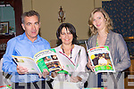 BASIC: Supliers of the book for children with Autism at the Kerry Autism Action conference in the Abbey gate Hotel Tralee on Saturday,John and Jacinta O'Hara (Ballyheigue) and Maria O'Keeffe (Moyvane)..... ..........