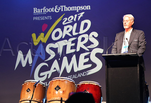 April 30th 2017, Auckland, New Zealand; Closing Ceremony of the World Masters Games; during the closing ceremony of the World Masters Games 2017 held at The Cloud on Auckland's waterfront