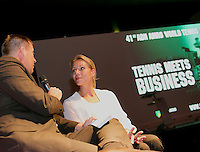 08-10-13, Netherlands, Rotterdam, Ahoy, tennis, Tennis meets Business, , <br /> Photo: Henk Koster