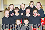 Glenflesk girls who danced in the Glenflesk Scor last Friday night front l-r: Ava Healy, Alison O'Sullivan. Middle row: Roisin Wall, Larisa O'Connor, Aoife Kelliher, Shanua O'Donoghue. Back row: Cliona Murphy, Ava Doherty, Aileen Healy and Erin Dineen......