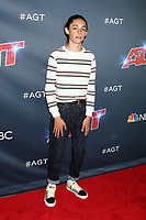 """LOS ANGELES - AUG 27:  Benicio Bryant at the """"America's Got Talent"""" Season 14 Live Show Red Carpet at the Dolby Theater on August 27, 2019 in Los Angeles, CA"""