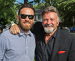 Nate and Mike Dolan during the 48th Annual Nevada Athletics Governor's Dinner at the Governor's Mansion  in Carson City on  Friday, July 8, 2016.