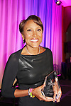 Robin Roberts with award - Figure Skating in Harlem presents Champions in Life Benefit Gala on April 29, 2019 at Chelsea Pier, New York City, New York - (Photo by Sue Coflin/Max Photos)