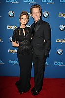 BEVERLY HILLS, CA - FEBRUARY 3: Kyra Sedgwick and Kevin Bacon at the 70th Annual Directors Guild of America Awards (DGA, DGAs), at The Beverly Hilton Hotel in Beverly Hills, California on February 3, 2018.  <br /> CAP/MPI/FS<br /> &copy;FS/Capital Pictures