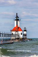 64795-02804 St. Joseph North Pier Lighthouses St. Joseph, MI