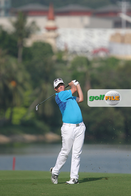 Marcus Fraser (AUS) on the 15th during the Resumed Round 3 of the Barclays Singapore Open, Sentosa Golf Club, Singapore. 11/11/12..(Photo Jenny Matthews/www.golffile.ie)