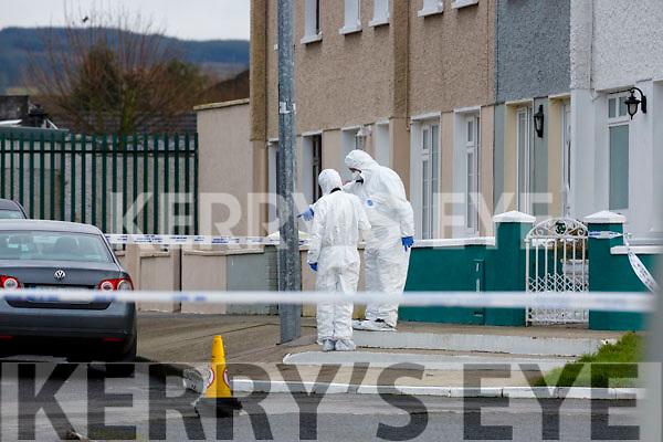The scene of a serious assault in St Stephens Park Castleisland on Sunday morning