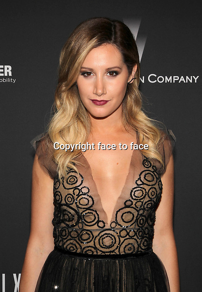 Beverly Hills, California - January 12: Ashley Tisdale at The Weinstein Company &amp; Netflix 2014 Golden Globes After Party on January 12, 2014 at The Beverly Hilton Hotel, California. <br />