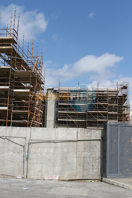 Unfinished Building beside Bettystown Court Hotel and Tesco...(Photo Jenny Matthews/www.newsfile.ie)