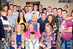 40 Rocks<br /> -------------<br /> Liam Diggin, Causeway, front centre, had a great night in Harty's bar Causeway last  Saturday night celebrating his 40th birthday along with many friends and family