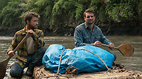 Jungle (2017)<br /> Alex Russell &amp; Daniel Radcliffe<br /> *Filmstill - Editorial Use Only*<br /> CAP/KFS<br /> Image supplied by Capital Pictures