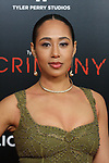 "Actress/singer Margot Bingham arrives on the red-carpet for the Tyler Perry""s ACRIMONY movie premiere at the School of Visual Arts Theatre in New York City, on March 27, 2018."