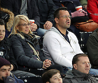 Swansea supporters during the Barclays Premier League match between Swansea City and West Bromwich Albion played at the Liberty Stadium, Swansea on December 26 2015