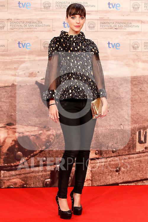 Spanish actress Leticia Dolera during the 59th San Sebastian Donostia International Film Festival - Zinemaldia.September 20,2011.(ALTERPHOTOS/ALFAQUI/Acero)