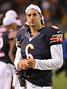 JAY CUTLER (6), of the Chicago Bears, in action during the Bears preseason game against the Denver Broncos on August 9, 2012 at Soldier Field in Chicago, IL. The Broncos beat the Bears 31-3.