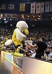 19.06.2019, Mercedes Benz Arena, Berlin, GER, 1.BBL, ALBA ERLIN vs.  FC Bayern Muenchen, <br /> im Bild ALBA-Maskottchen<br /> <br />      <br /> Foto © nordphoto / Engler