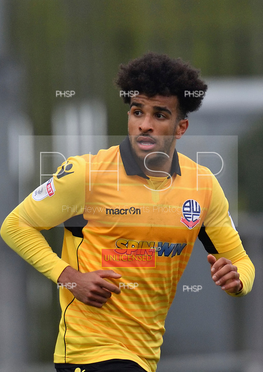 11/03/2017 Sky Bet League 1 Fleetwood Town v Bolton Wanderers<br /> <br /> Derik Osede, Bolton Wanderers FC