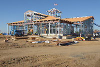 Meigs Point Nature Center at Hammonasset Beach State Park  <br /> Connecticut State Project No: BI-T-601<br /> Architect: Northeast Collaborative Architects  Contractor: Secondino & Son<br /> James R Anderson Photography New Haven CT photog.com<br /> Date of Photograph: 03 November 2015<br /> Camera View: 01