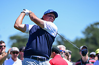 Phil Mickelson (USA) watches his tee shot on 3 during round 2 of the Shell Houston Open, Golf Club of Houston, Houston, Texas, USA. 3/31/2017.<br /> Picture: Golffile | Ken Murray<br /> <br /> <br /> All photo usage must carry mandatory copyright credit (&copy; Golffile | Ken Murray)