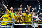Jaen P. Interior supporters celebrating the championship during Finals Futsal Spanish Cup 2018 at Wizink Center in Madrid , Spain. March 18, 2018. (ALTERPHOTOS/Borja B.Hojas)
