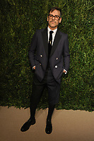 NEW YORK, NY - NOVEMBER 6: Antonio Azzuolo at the 14th Annual CFDA Vogue Fashion Fund Gala at Weylin in Brooklyn, New York City on November 6, 2017. <br /> CAP/MPI/JP<br /> &copy;JP/MPI/Capital Pictures