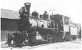 RGS 2-8-0 #41 in Durango on the ready track.<br /> RGS  Durango, CO  Taken by Perry, Otto C. - 7/4/1938