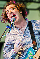 The Wombats playing at Voodoo Festival 2011 in New Orleans, LA.