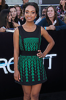 """WESTWOOD, LOS ANGELES, CA, USA - MARCH 18: Lyndie Greenwood at the World Premiere Of Summit Entertainment's """"Divergent"""" held at the Regency Bruin Theatre on March 18, 2014 in Westwood, Los Angeles, California, United States. (Photo by Xavier Collin/Celebrity Monitor)"""