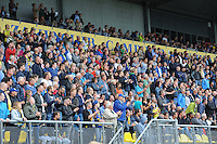 VOETBAL: LEEUWARDEN: 16-08-2015, SC Cambuur - Feyenoord, uitslag 0-2, Cambuur supporters, ©foto Martin de Jong