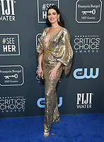 12 January 2020 - Santa Monica, California - Anne Hathaway. 25th Annual Critici's Choice Awards held at Barker Hangar. Photo Credit: Birdie Thompson/AdMedia