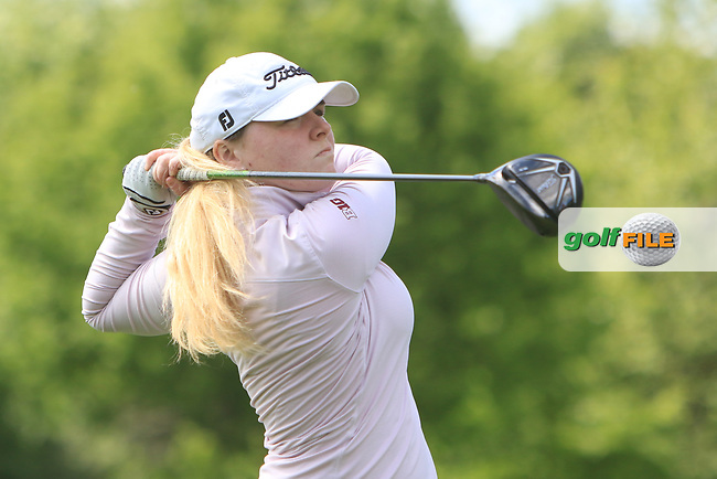 Niamh Ward (Lurgan) on the 15th tee during Round 4 of the Ulster Stroke Play Championships at Galgorm Castle Golf Club, Ballymena, Northern Ireland. 28/05/19<br /> <br /> Picture: Thos Caffrey / Golffile<br /> <br /> All photos usage must carry mandatory copyright credit (© Golffile | Thos Caffrey)