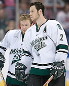 (Tyler Howells) Corey Potter - The University of Maine Black Bears defeated the Michigan State University Spartans 5-4 on Sunday, March 26, 2006, in the NCAA East Regional Final at the Pepsi Arena in Albany, New York.