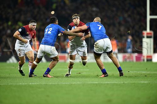 12.11.2016. Stadium Toulouse, Toulouse, France. Autumn International rugby match, France versus Samoa.  Julien Le Devedec (fr)