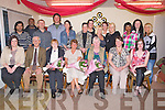 RETIRMENT: Three members of ABC Cleaning, Boherbue Tralee who retired on Friday evening and the staff put on a retirmwent party for them.. Front l-r: Jennifer Moriarty, Sean Hurley, Kathleen Leen (10years), Noreen Prendiville (22) and Nora Shanahan (10 years). Breda Hurley and faye Lacey. Back l-r: Rachel Zupko, David Kebede, Lubo Jerdonek, Setghei Glusco, Lisa Creag, Christina Downey, Phil Quirke, Carol Power, Amanda O'Brien, Faith Soloman, Ewelina Suska, Barbara Witka. ...