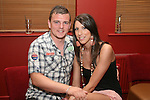 Sharzie Foroughi with Tosh O'Brien in Harrys....Photo NEWSFILE/Jenny Matthews.(Photo credit should read Jenny Matthews/NEWSFILE)....This Picture has been sent you under the condtions enclosed by:.Newsfile Ltd..The Studio,.Millmount Abbey,.Drogheda,.Co Meath..Ireland..Tel: +353(0)41-9871240.Fax: +353(0)41-9871260.GSM: +353(0)86-2500958.email: pictures@newsfile.ie.www.newsfile.ie.FTP: 193.120.102.198.