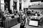 Gen&egrave;ve, le 15.11.2017<br /> Annick Ecuyer, 1er &eacute;lu transgenre, durant la prestation de serment de son entr&eacute;e au Conseil Municipal.<br /> Le Courrier / &copy; C&eacute;dric Vincensini