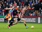 Oli McBurnie of Sheffield Utd during the Premier League match at Bramall Lane, Sheffield. Picture date: 9th February 2020. Picture credit should read: Simon Bellis/Sportimage