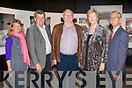 LECTURE: Attending the lecture on education as a pupil and teacher by Senator Joe O'Toole as part of the Kerry Lives exhibition at the Kerry County Museum on Friday l-r: Eileen Carroll, Councillor Pat Hussey, Tim Guiheen, Councillor Mairead Fernane and Councillor Sam Locke.