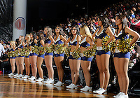 The Golden Dazzlers perform before the sold-out crowd at the South Florida All Star Classic held at FIU's U.S. Century Bank Arena, Miami, Florida. .